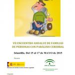 UPACE San Fernando anima a participar en el VII Encuentro de Familias de Personas con Parálisis Cerebral