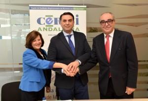 Firma Protocolo entre CERMI-A y la Consejería de Turismo y Deporte (002)