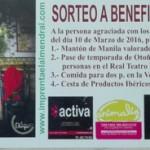 PAPELETA PREMIADA EN EL SORTEO DE UPACE SAN FERNANDO