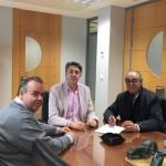 UPACE SAN FERNANDO RECIBE LA SUBVENCIÓN DE  LA ONCE PARA EL CURSO 2015-2016