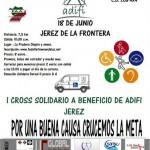 I CROSS SOLIDARIO A BENEFICIO DE ADIFI JEREZ