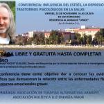 CONFERENCIA: INFLUENCIA DEL ESTRÉS, LA DEPRESIÓN Y OTROS TRASTORNOS PSICOLÓGICOS EN LA SALUD