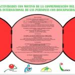 RECORDATORIO DE LA PROGRAMACIÓN DE UPACE SAN FERNANDO CON MOTIVO DE LA CONMEMORACIÓN DEL DÍA INTERNACIONAL DE LAS PERSONAS CON DISCAPACIDAD
