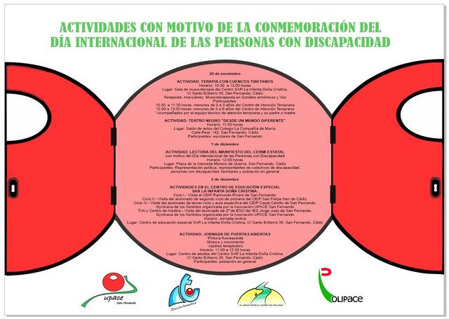 DÍPTICO DIA INTERNACIONAL DE LAS PERSONAS CON DISCAPACIDAD