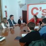 CERMI Andalucía se reúne con el grupo parlamentario de Ciudadanos para tratar sobre el Plan de Mejora de los Centros Específicos de Educación Especial