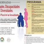 Jornadas: Sexualidades, Discapacidades y Diversidades organizadas por el Excmo. Ayuntamiento de San Fernando