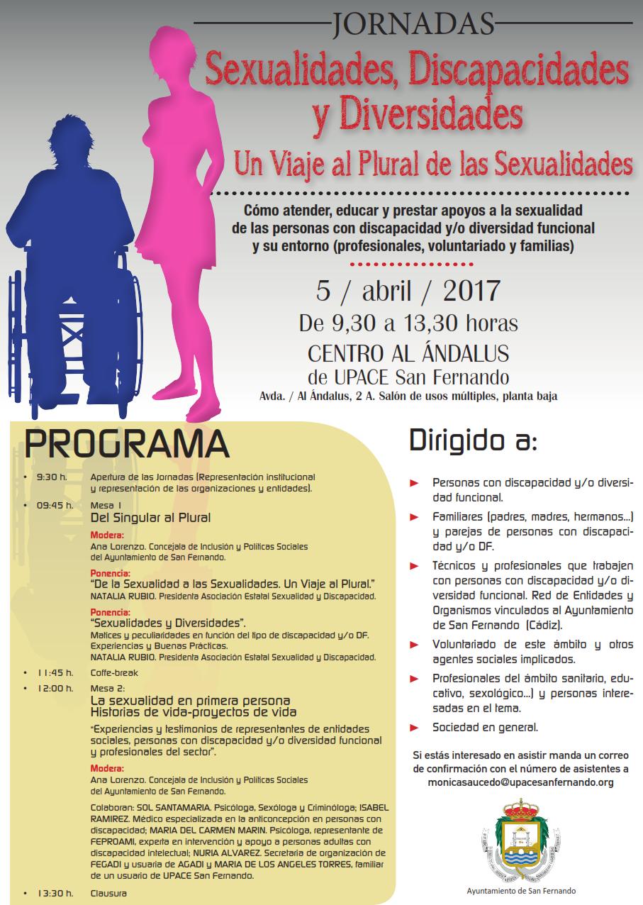 Cartel Jornada Sexualidad y Discapacitado_001