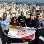 Miguel Ángel Muñoz, trabajador de UPACE San Fernando, participará en los Juegos Nacionales y Mundiales para trasplantados 2017