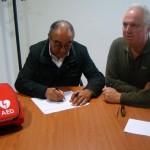 UPACE San Fernando ya es un centro cardioprotegido