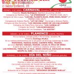 Cartel definitivo XXIII Verbena Pro-Colonias UPACE San Fernando