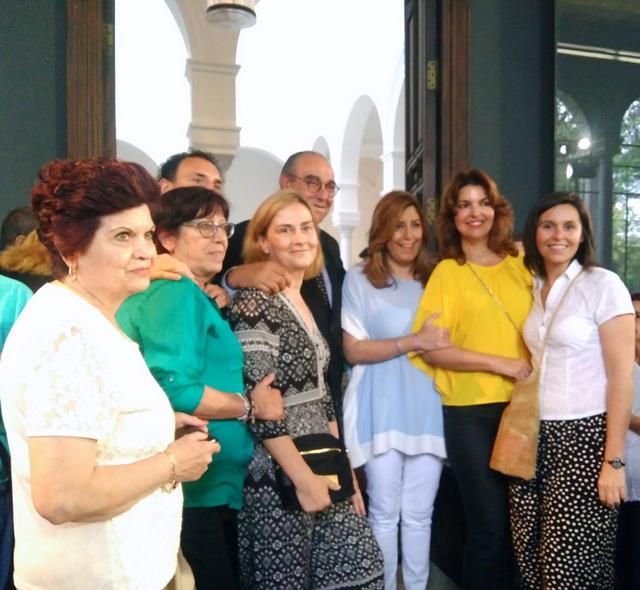 CERMI Andalucía con Susana Díaz, presentación proyecto de Ley del Voluntariado