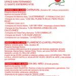 Cartel de la Verbena Pro-colonias 2017 de UPACE San Fernando