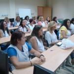 Clausura del curso organizado por la concejalía de la Mujer de lavandería en instituciones sanitarias, realizado por UPACE San Fernando