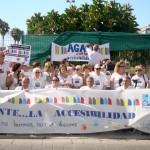 UPACE San Fernando acude hoy a la convocatoria de la concentración por la accesibilidad