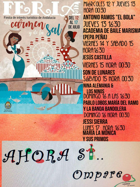cartel feria CASETA UPACE