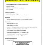CURSO: PREVENCIÓN DE LA VIOLENCIA DE GÉNERO organizado por el Ayuntamiento de San Fernando