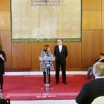 UPACE San Fernando en el Parlamento Andaluz apoyando al CERMI Andalucía en los actos del Día Internacional y europeo de las personas con discapacidad