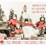 UPACE San Fernando les desea Feliz Navidad y Próspero Año 2018