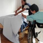 """Finaliza el programa de autonomía personal para personas con parálisis cerebral """"HAZLO TÚ"""" 2017, de Fundación Parálisis Cerebral San Fernando financiado por la Consejería de Igualdad y Políticas Sociales de la Junta de Andalucía"""