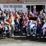 Fernando Romay e Isabel Sánchez visitan UPACE San Fernando con motivo de su 40 Aniversario