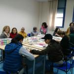 El área de familia de UPACE San Fernando organiza un taller de pintura