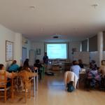 Profesionales de UPACE San Fernando se forman en FISIOTERAPIA RESPIRATORIA