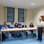 MICHEL LE METAYER forma a fisioterapeutas de ASPACE en UPACE San Fernando