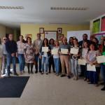 """Inaugurada la exposición de Pinturas """"40 Aniversario"""" de UPACE San Fernando"""