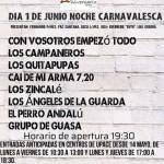Últimos días de venta de entradas anticipadas para la Noche Carnavalesca de la Verbena de UPACE San Fernando