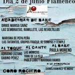 Cartel Flamenco XXIV VERBENA PRO-COLONIAS UPACE San Fernando
