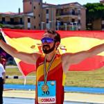 Miguel Ángel Muñoz, trabajador de UPACE San Fernando, cosecha éxitos en los X Juegos Europeos para Trasplantados