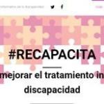 Nace campañarecapacita.org para comprometer a periodistas en el correcto tratamiento de la discapacidad