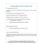 """UPACE San Fernando impartirá el curso """"Horticultura y Floricultura"""""""