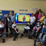 TEAM MTB UPACE y APEDALES donan una pantalla interactiva a UPACE San Fernando