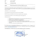 Proceso de selección de vacante en el centro educativo