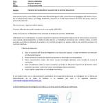 PROCESO DE SELECCION DE VACANTE EN EL CENTRO EDUCATIVO